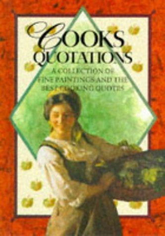 Cooks Quotations (Quotation Book) by Helen Exley
