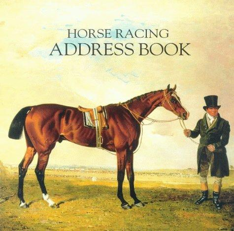 Horse Racing Address Book by Mary Anne Wingfield