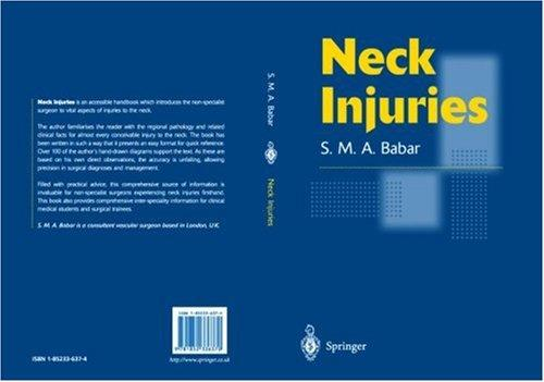 Neck Injuries by Syed M. Babar