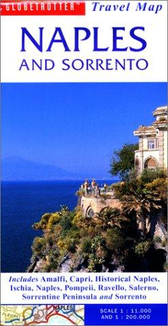 Naples & Sorrento Travel Map by Globetrotter