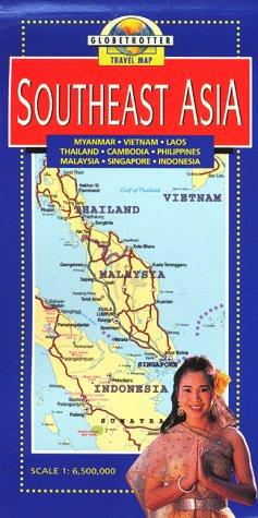 Southeast Asia Travel Map by Globetrotter