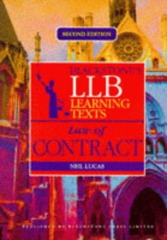LLB Learning Text (Blackstones LLB Learning Texts) by Neil Lucas