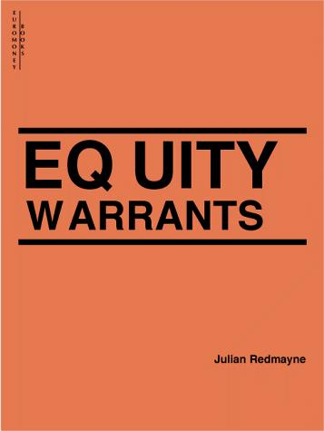 Equity Warrants by Julian Redmayne
