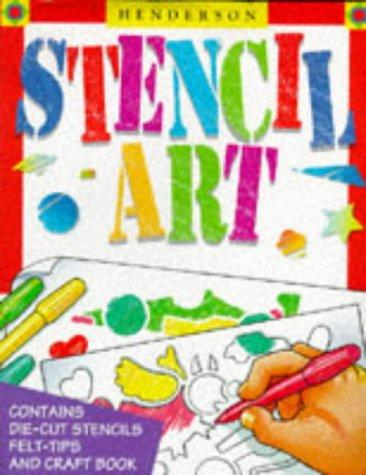 Stencil Art (Activity Fun Packs) by Kerrie Dudley