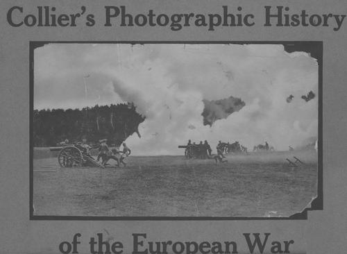 Collier's photographic history of the European war by