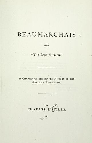 "Beaumarchais and the ""lost million"""
