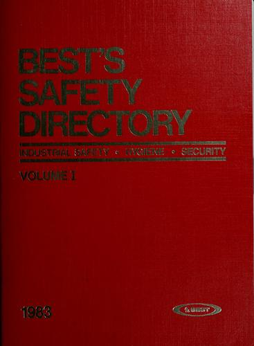 Best's safety directory by
