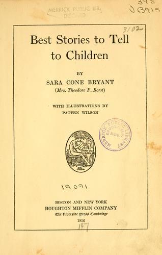 Best stories to tell to children