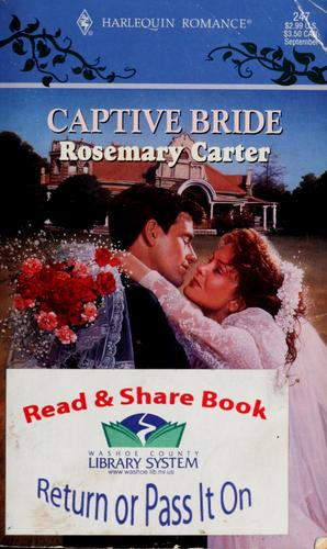 Captive bride by Rosemary Carter