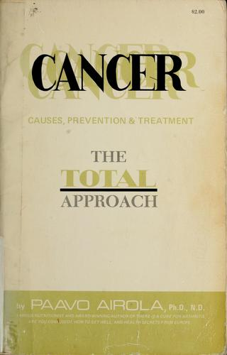 Cancer by Paavo O. Airola