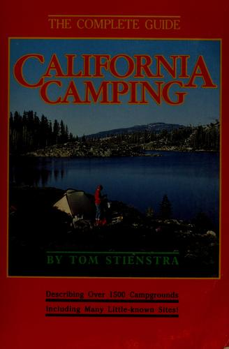 California camping by Tom Stienstra