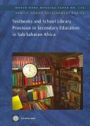 Textbooks and school library provision in secondary education in Sub-Saharan Africa by