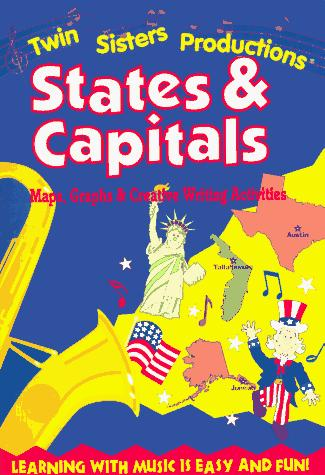 States & Capitals (Rhythm, Rhyme and Read Series) by Kim Mitzo Thompson