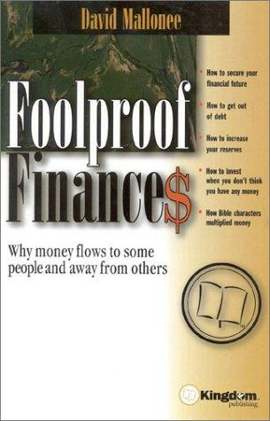 Foolproof Finances David Mallonee
