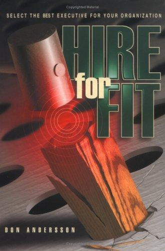 Hire for Fit by Don Andersson