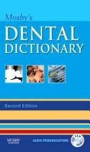 Mosby's dental dictionary by