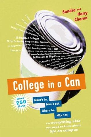 College in a can by
