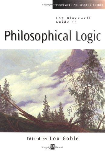 Philosophical Logic by Lou Goble
