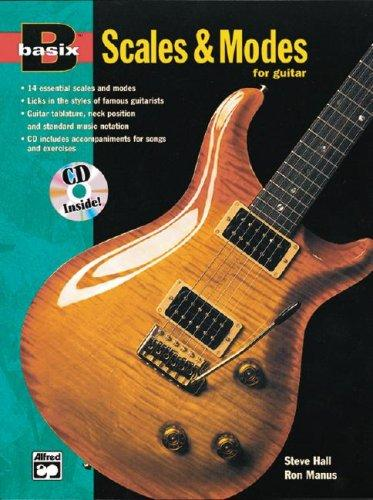 Scales & Modes for Guitar (with CD) by Steve Hall, Ron Manus