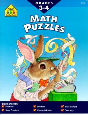 Math Puzzles by Marc Tyler Nobleman