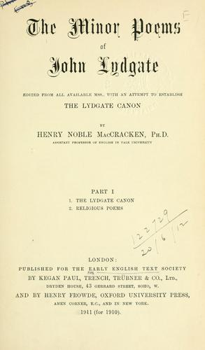 [Publications]  Extra series by Early English Text Society.