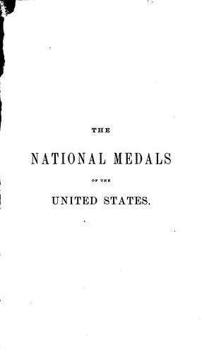 The national medals of the United States by Richard Meredith McSherry