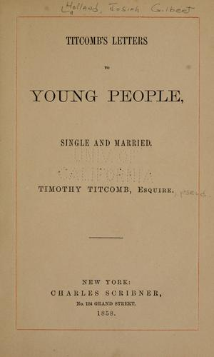 Titcomb's letters to young people, single and married