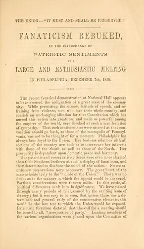Great Union meeting by Philadelphia. Union meeting, 1859