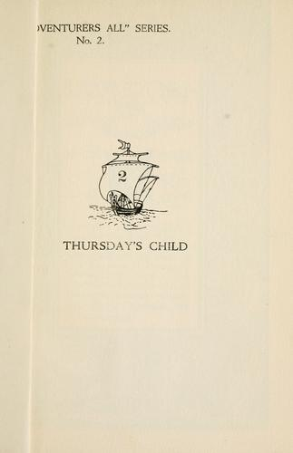 Thursday's child by Elizabeth Rendall