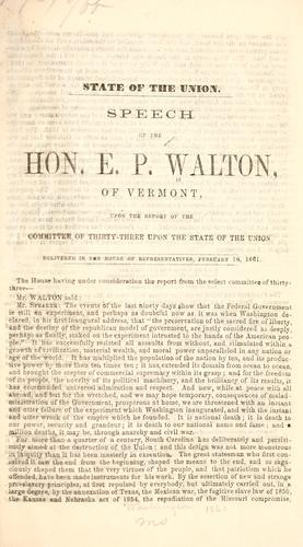 State of the Union by E. P. Walton