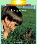 Lo Que Ves-Big Book by Allan Fowler